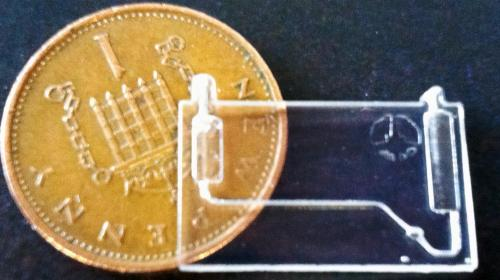 IDC Models produces intricate microchip for biological cell research