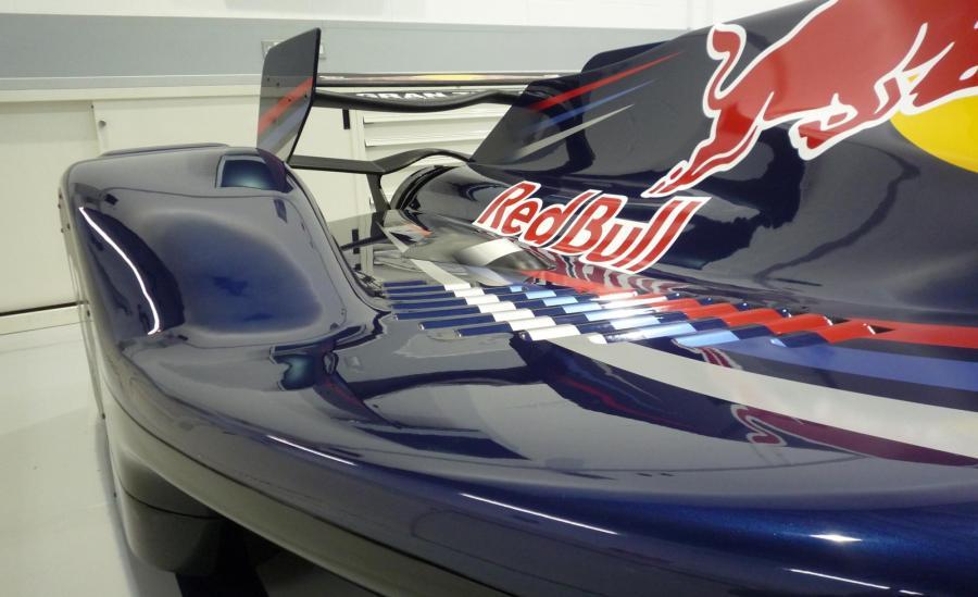 Red Bull F1 racing car