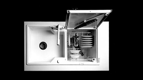 Sink Integrated Dishwasher